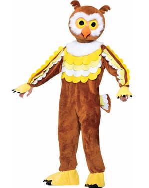 Mens Owl Deluxe Costume