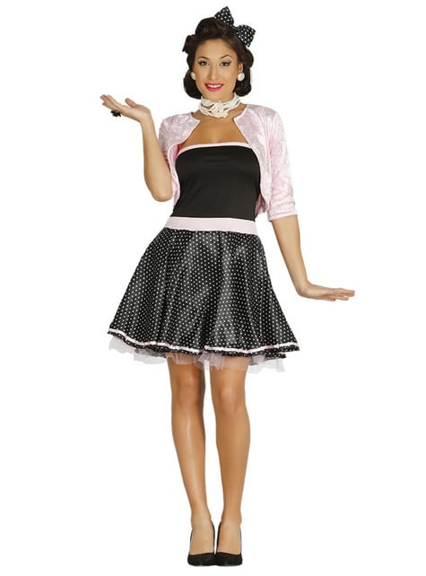 50er Jahre Fräulein Kostüm für Damen
