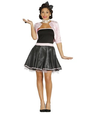 Miss of the 50's costume for women