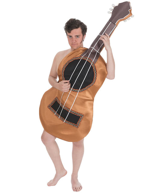 Disfraz de guitarra clásica para adulto