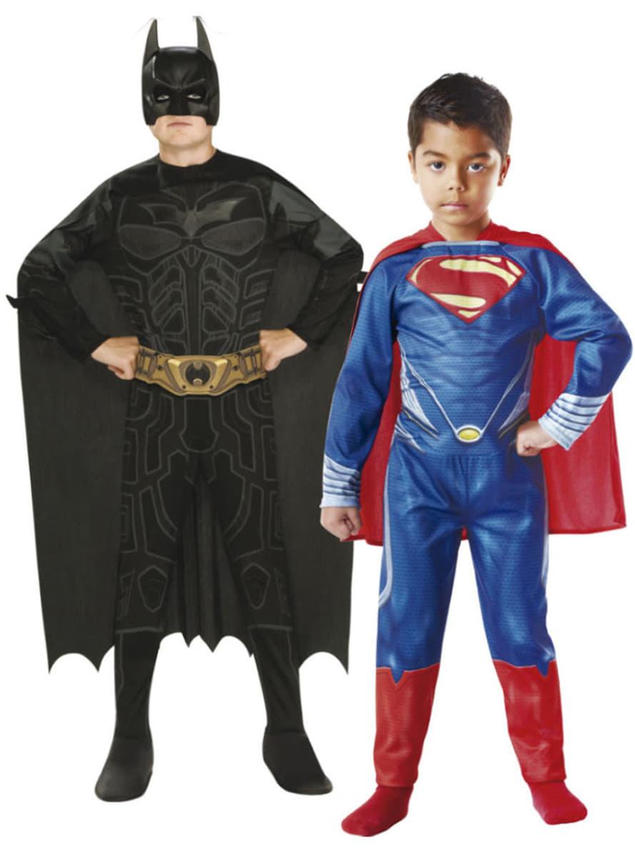 costumes batman et superman enfant funidelia. Black Bedroom Furniture Sets. Home Design Ideas