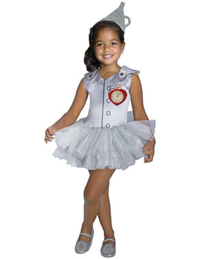 Girls Tin Man The Wizard of Oz tutu costume