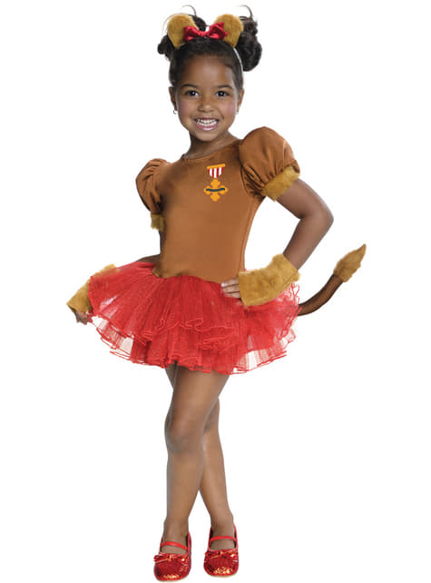 Girls adorable Lion The Wizard of Oz costume