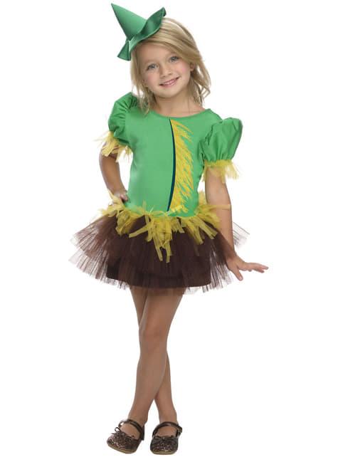 Fato de Espantalho do Feiticeiro de Oz para menina