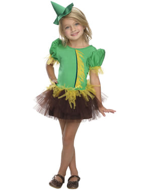 Girls Scarecrow The Wizard of Oz costume