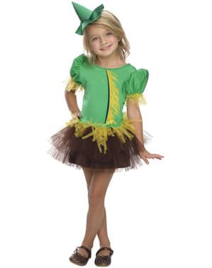 Troldmanden fra Oz Fugleskræmsel kostume til piger