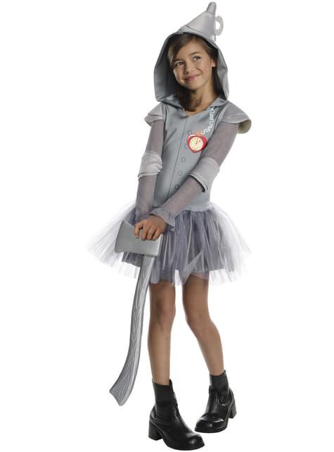 Fato de Rapariga de Lata do Feiticeiro de Oz tutu para menina