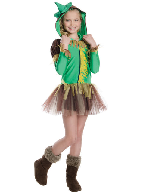 Fato de Espantalho do Feiticeiro de Oz tutu para menina