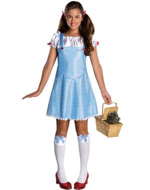 Maskeraddräkt Dorothy Trollkarlen från Oz för ungdom