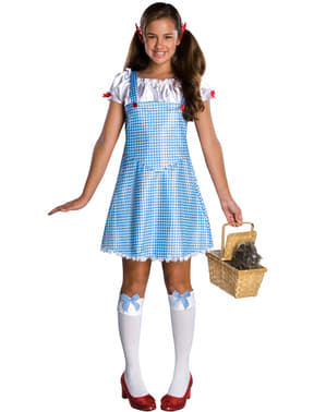 Teen girls Dorothy The Wizard of Oz costume