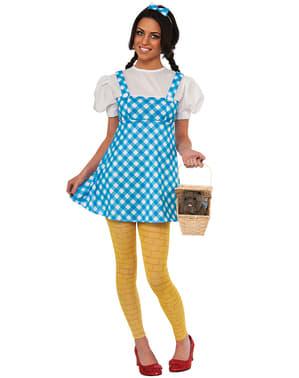 Fato de Dorothy do Feiticeiro de Oz para mulher