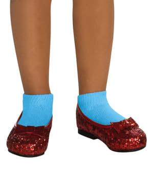 Sapatos de Dorothy do Feiticeiro de Oz para menina