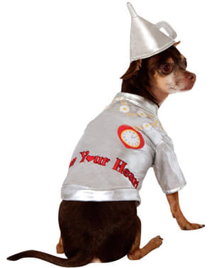 Dogs Tin Man The Wizard of Oz costume