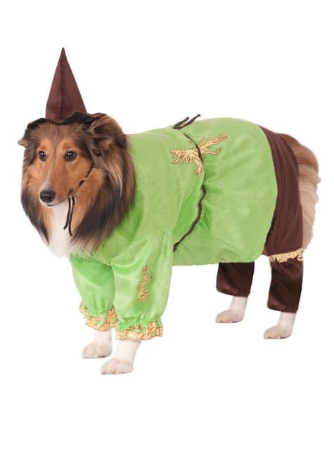 犬のかかしオズの魔法使いの衣装