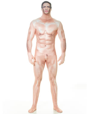 Censored Sexy Man Morphsuit Costume