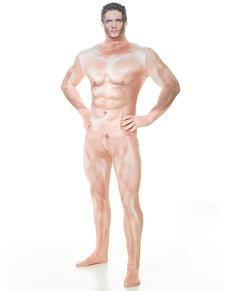 Disfraz de hombre sexy censurado Morphsuit
