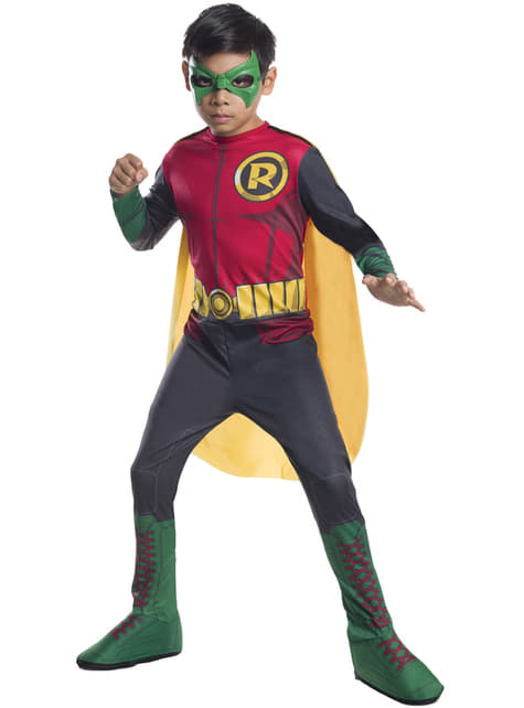 Childrens vigilante Robin costume