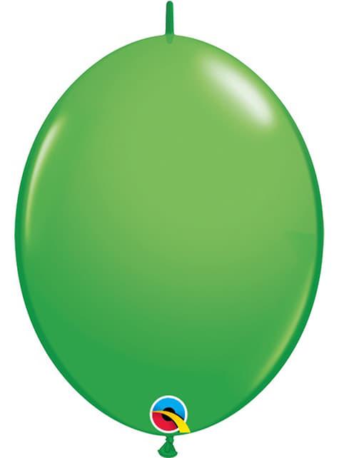 50 balões link o loon verdes (15,2cm) - Quick Link Solid Colour