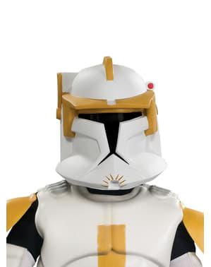 Máscara comandante Cody Star Wars deluxe para homem