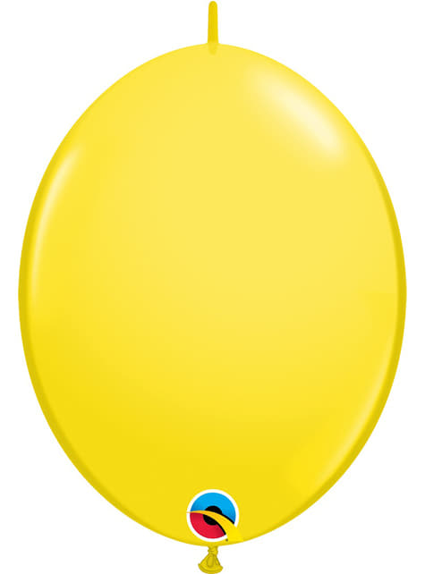 50 ballons link o loon jaunes (30,4cm) - Quick Link Solid Colour
