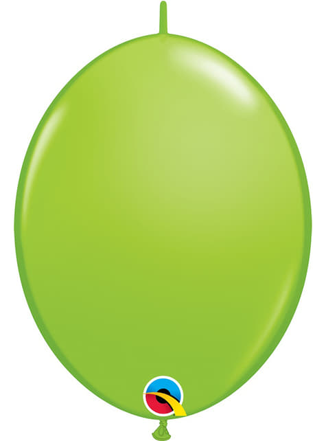 50 balões link o loon verde lima (30,4cm) - Quick Link Solid Colour