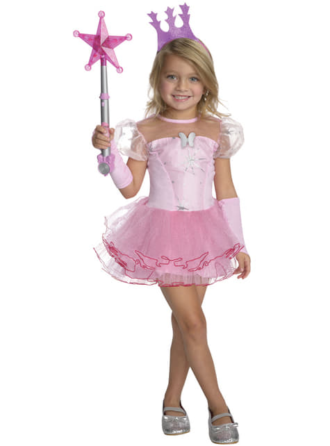 Disfraz de Glinda la bruja buena tutú para niña