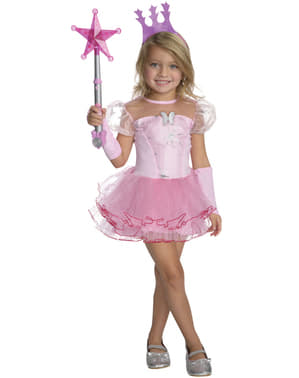 Déguisement Glinda la Bonne Sorcière Le Magicien d'Oz tutu fille