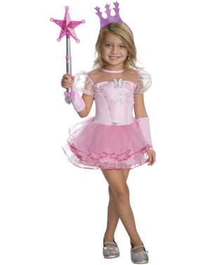 Troldmanden fra Oz Glinda den Gode Heks tyl kostume til piger