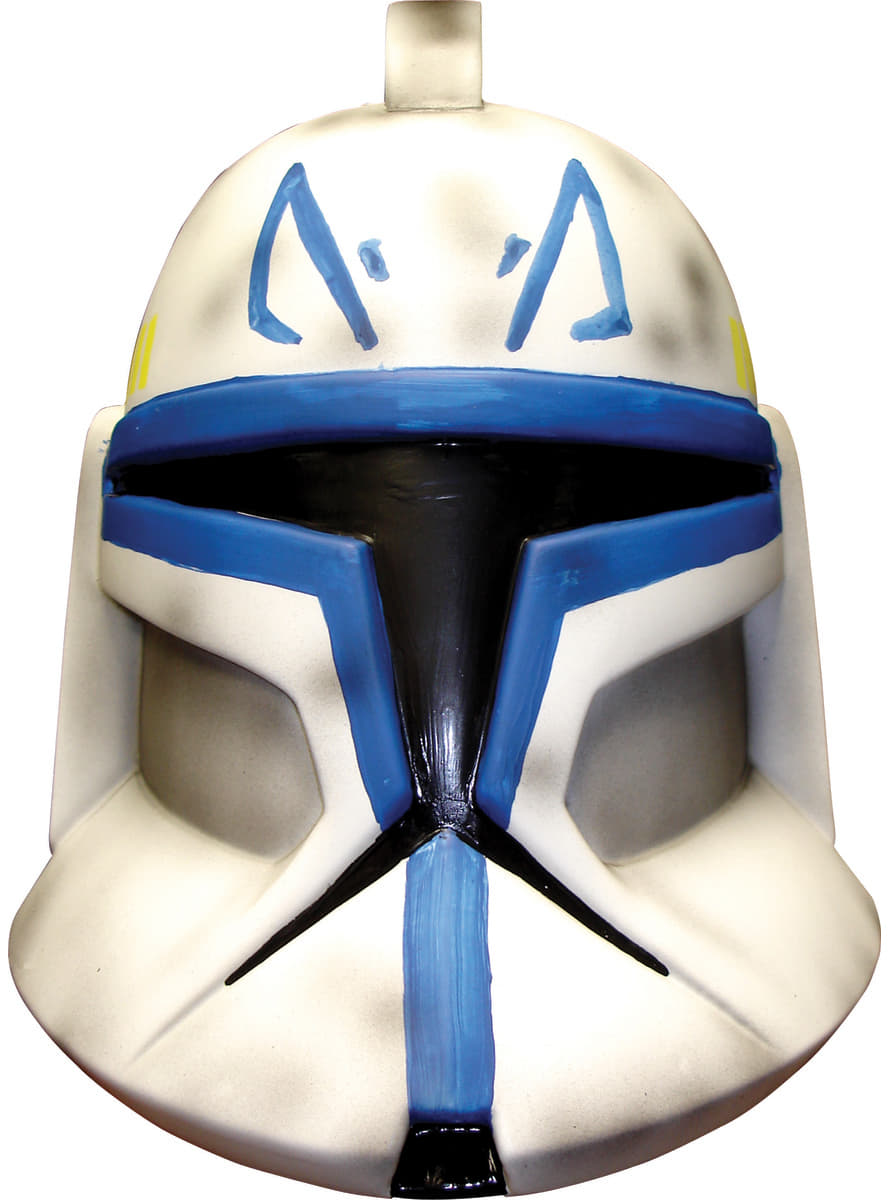 Mens Captain Rex Star Wars Deluxe Mask Fast Delivery