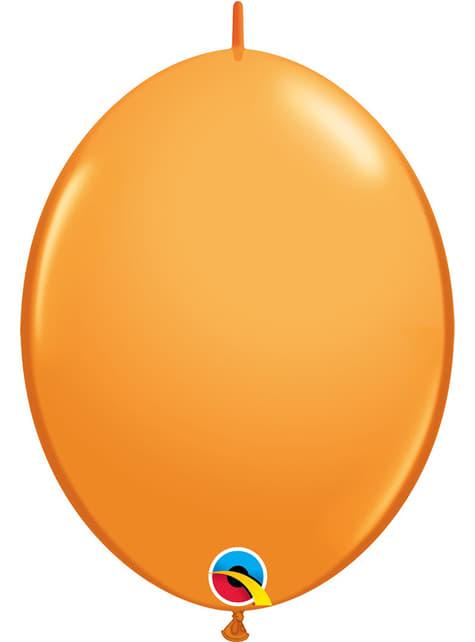 50 balões link o loon laranja (30,4cm) - Quick Link Solid Colour