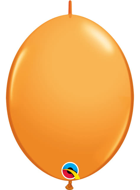 50 globos link o loon naranja (30,4cm) - Quick Link Solid Colour