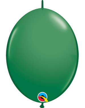 50 Link-O-Loon Balloons in Green (30.4 cm) - Quick Link Solid Colour