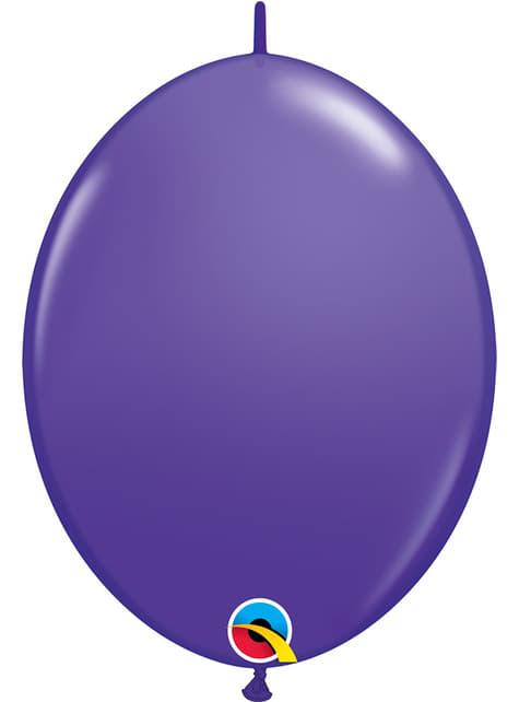 50 fialových balónků Link-O-Loon (30,4 cm) - Quick Link Solid Colour