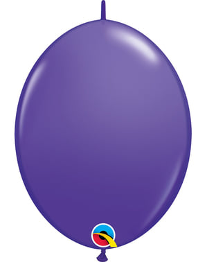 50 Link-O-Loon Balloons in Purple (30.4 cm) - Quick Link Solid Colour