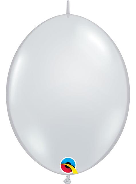 50 bezbarvých balónků Link-O-Loon (30,4 cm) - Quick Link Solid Colour