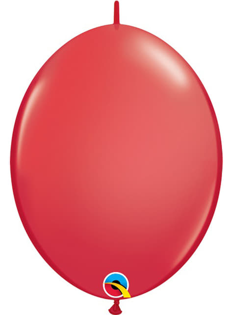 50 globos link o loon rojos (15,2cm) - Quick Link Solid Colour