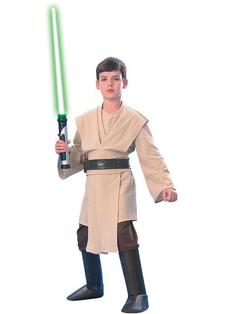 Fato de Jedi Star Wars deluxe para menino