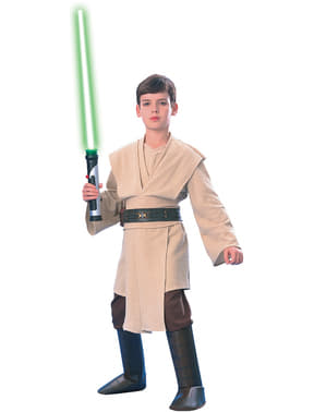 Costum Jedi Star Wars deluxe pentru băiat
