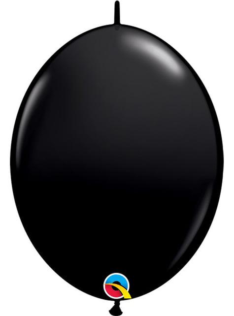 50 černých balónků Link-O-Loon (15,2 cm) - Quick Link Solid Colour