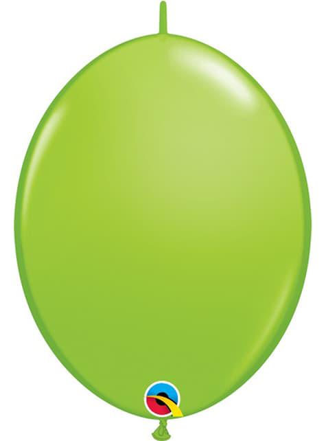 50 balões link o loon verde lima (15,2cm) - Quick Link Solid Colour