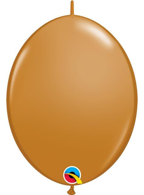 50 hnědých balónků Link-O-Loon (30,4 cm) - Quick Link Solid Colour