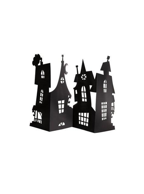 Składany stroik na stół nawiedzony dom - Basic Halloween