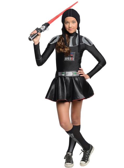 Fato de Darth Vader Star Wars para mulher