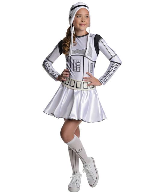 Teen κορίτσια Stormtrooper κοστούμι Star Wars