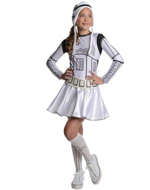 Déguisement Stromtrooper Star Wars adolescente