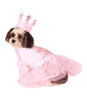 Glinda Tovenaar Oz Kostuum voor honden