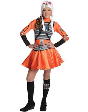 Dívčí kostým pilotka X-Wing Hvězdné války