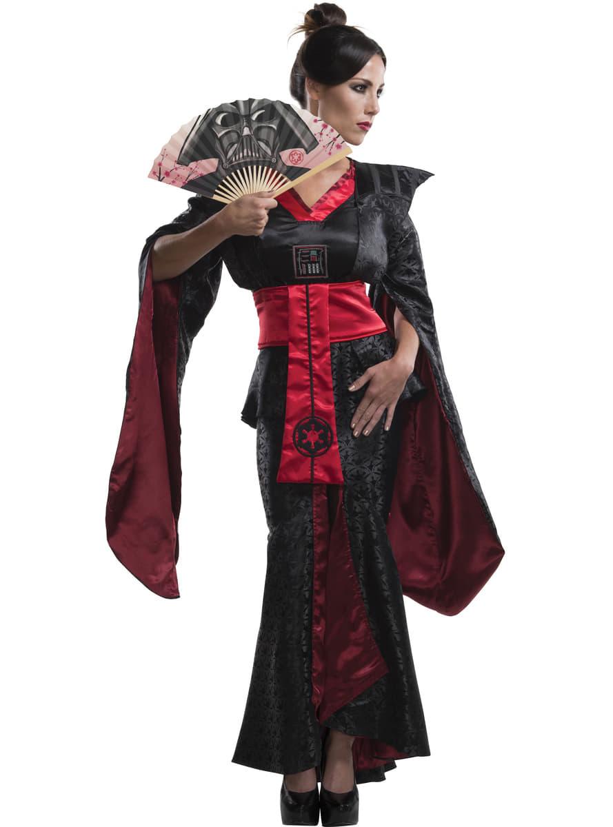 darth vader kost m kimono f r damen star wars. Black Bedroom Furniture Sets. Home Design Ideas
