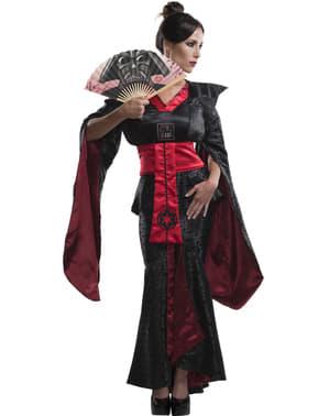 Costume kimono Darth Fener Star Wars donna