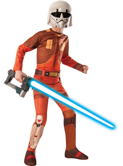 Disfraz de Ezra Bridger Star Wars Rebels para niño